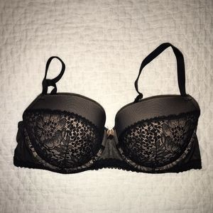 Victoria's Secret Padded Demi Balconet 36D